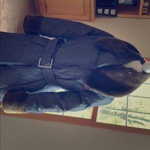 Heavy parka coat